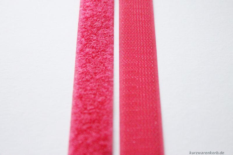 klettband ann hen pink 2 cm. Black Bedroom Furniture Sets. Home Design Ideas